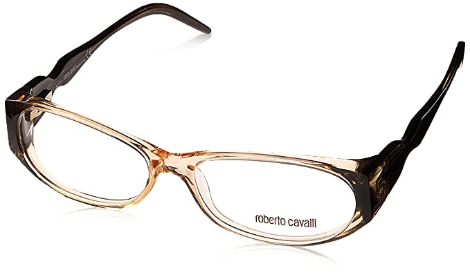 Amazon.com: Roberto Cavalli Eyeglasses Agave 633 059 Honey Full Rim ...