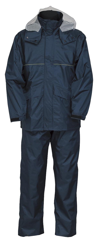 スプルース スーツ 全6色 全7サイズ レインスーツ ネイビー M 防水 2層レイヤー 収納袋付き 9800 [正規代理店品] B018JRDJGW Medium ネイビー ネイビー Medium