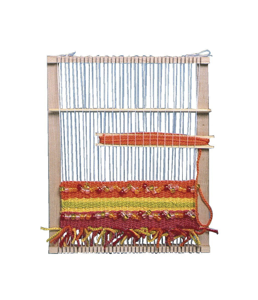 Jack Richeson Flat Peacock Finger Loom, 10 x 12 Inches