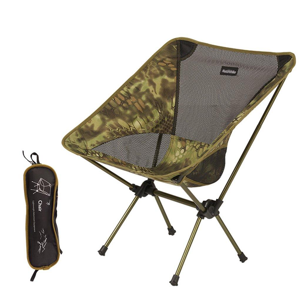 Klappstuhl im Freien tragbar Camping-Angelhocker Lässiger Strandskizzenhocker