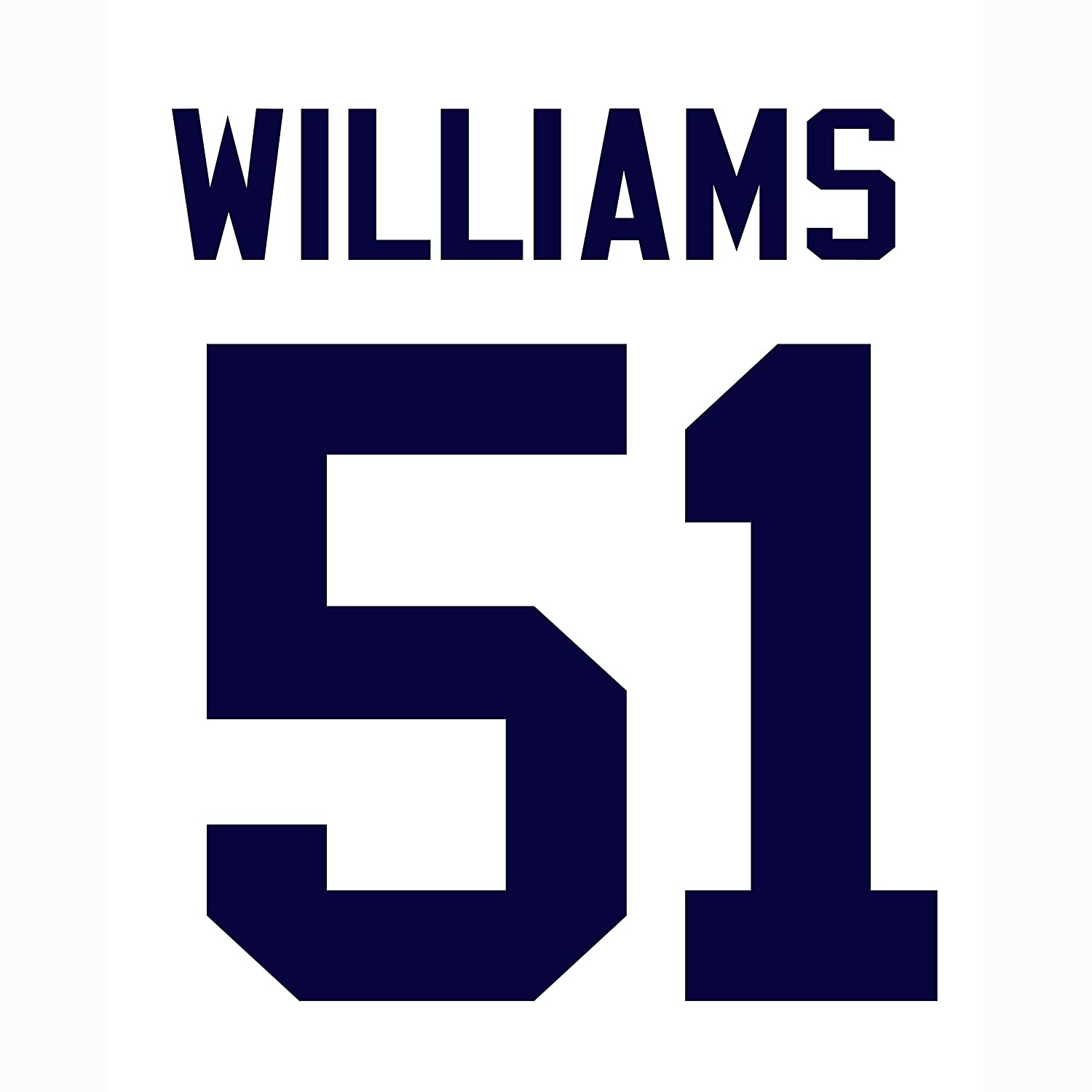 wholesale dealer 79f57 69284 Bernie Williams New York Yankees Jersey Number Kit ...