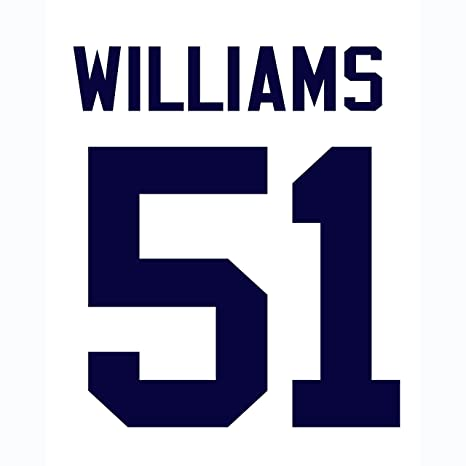 wholesale dealer 16842 b5b05 Bernie Williams New York Yankees Jersey Number Kit ...