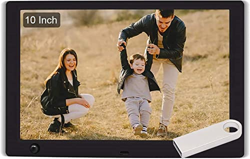 WayGoal 10 Inch Digital Picture Frame 16GB USB Flash Drive