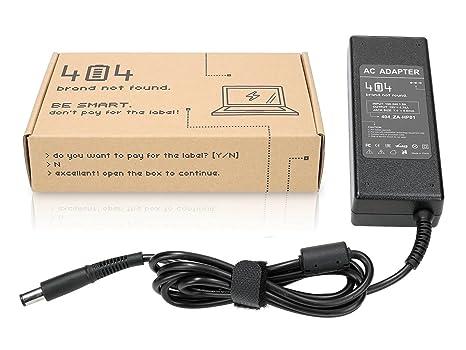 Wessper 404Brand Cargador Adaptador para Ordenador Portátil para HP G62-b73ER (19V, 4.74