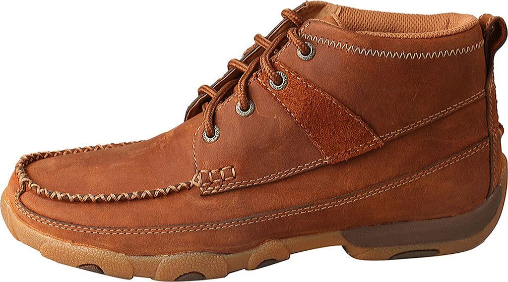 Twisted X Womens Chukka Breathable Handcrafted Lace-Up Cowgirl Driving Moccasins