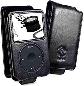 Tuff-Luv Premium Napa Leather case cover for Apple iPod Classic 80GB / 120GB / (160GB - 2009 edition only) - Black