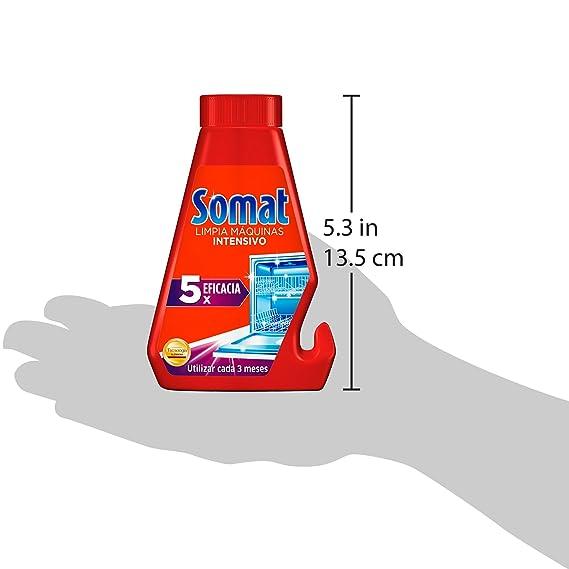 Somat Lavavajillas Limpia Máquinas - 250 ml: Amazon.es ...