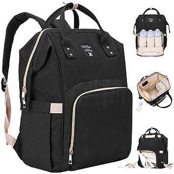 Amazon.com : Diaper Bag Multi-Function Waterproof Travel Backpack ...