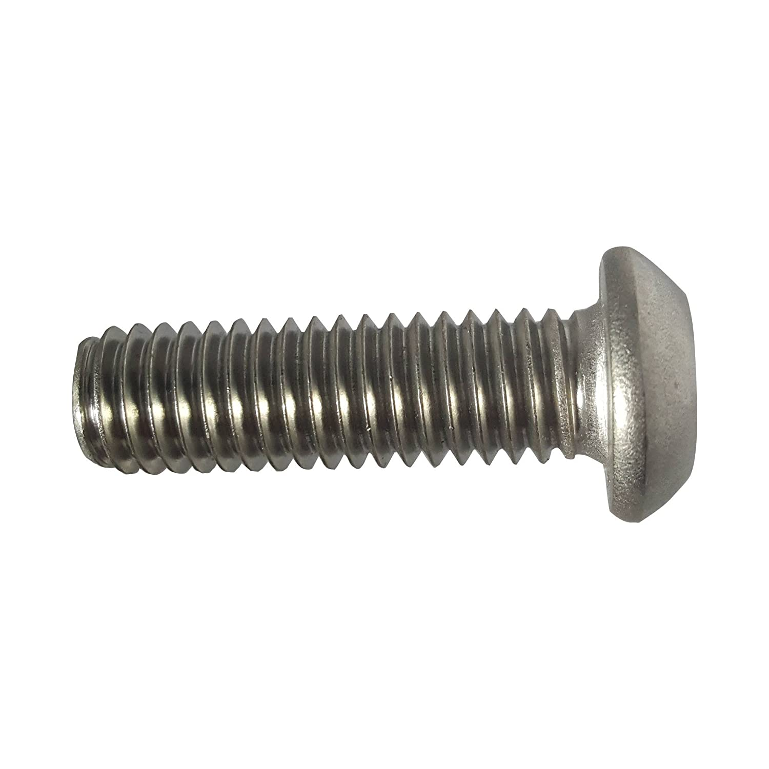 10-24 x 3//4 Button Head Torx Security Machine Screw Bolt Screws Stainless Steel Tamper Resistant Qty 25 Thread Size 10-24 x 3//4 Length by Fastenere Qty 25 Thread Size 10-24 x 3//4 Length by Fastenere Lightning Stainless