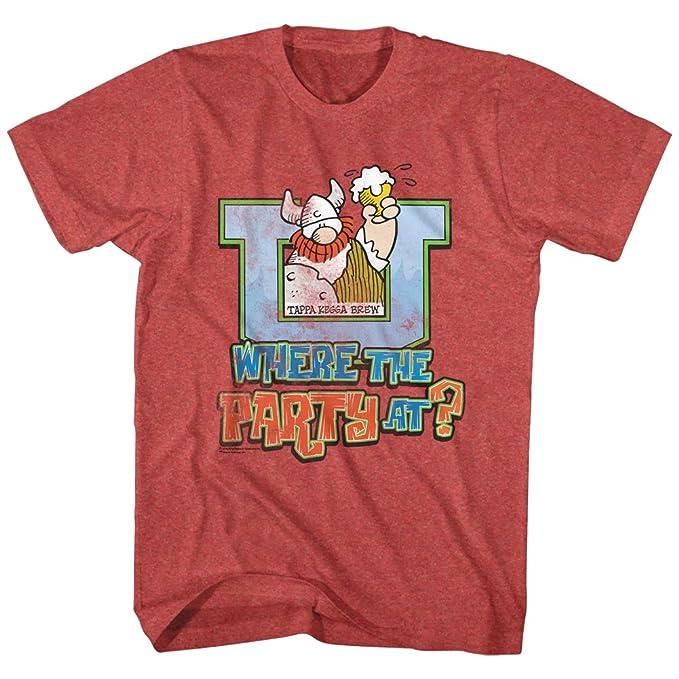 American Classics Agar la terrible instante cómica vikingo donde el partido en camiseta para hombre Grande