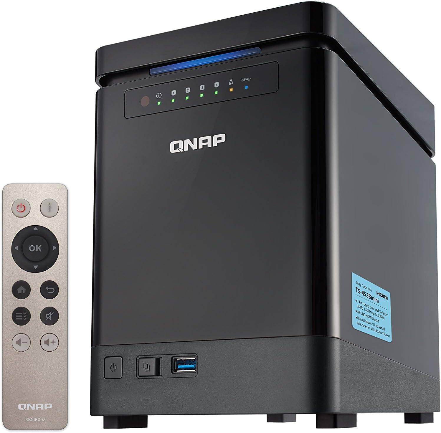QNAP TS-453Bmini NAS Torre Ethernet Negro - Unidad Raid (Unidad de ...