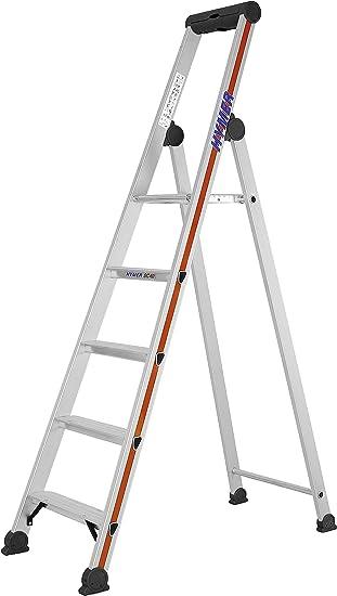HYMER 402605 - Escalera de tijera: Amazon.es: Bricolaje y herramientas