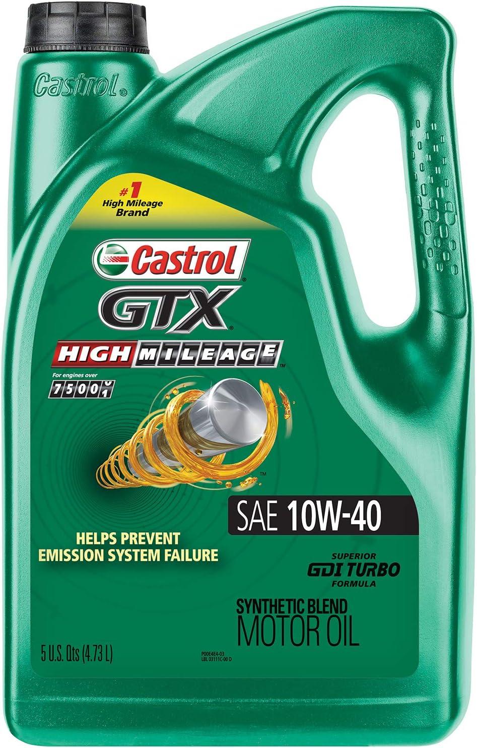 Castrol's GTX High-Mileage Oil