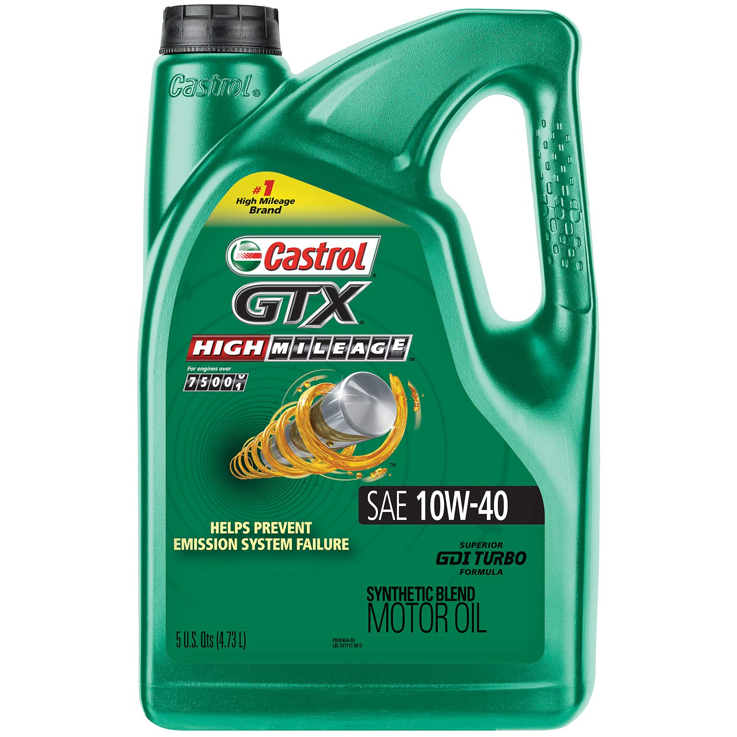 Castrol's GTX High-Mileage Oil}