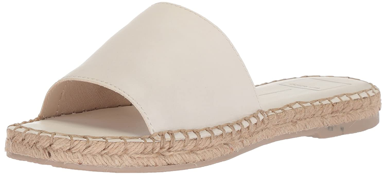 Dolce Vita Women's Bobbi Slide Sandal B077QHVXFL 7 B(M) US|Off White Leather