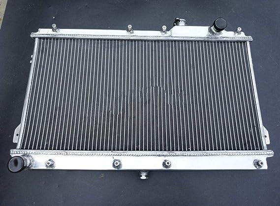 52MM Aluminum radiator Fans for MAZDA MIATA MX5 1.6L 1.8L 1990-1997 91 92 MT