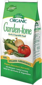 Espoma GT4 Garden-Tone Fertilizer For Vegetable Garden