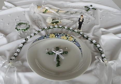 Platzdeko Ehrenplatz Tisch Kommunion Konfirmation