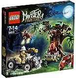 LEGO Monster Fighters - 9463 - Jeu de Construction - Le Loup-Garou