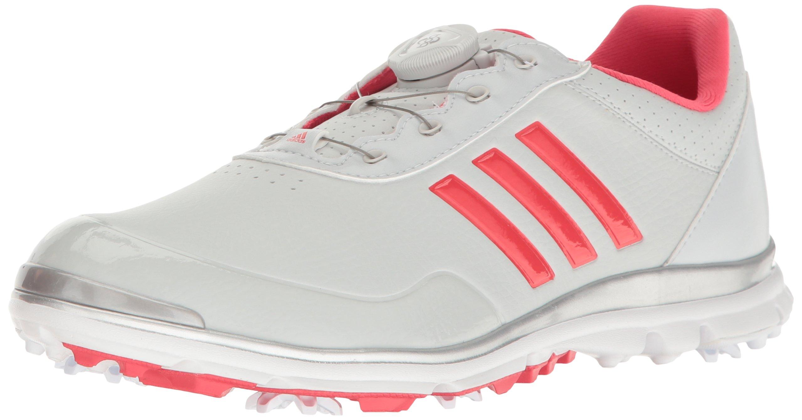 adidas Women's W Adistar Lite Boa Clgrey Golf Shoe, Clear/Grey, 9 M US