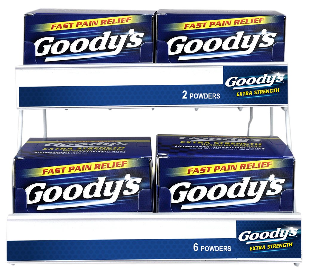 Goody's 60 Piece Base 2 Sku Rack