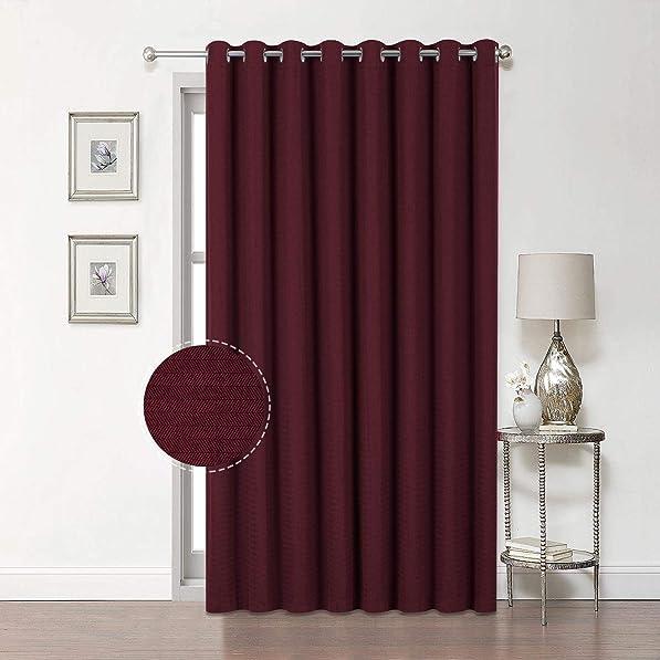 Reviewed: Premium Soft Sliding Glass Door Curtains