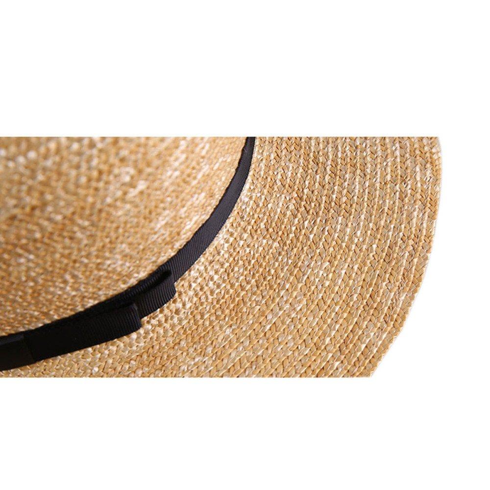 Verano Sombrero De Paja Pajarita Playa Sombreros De Protección ...
