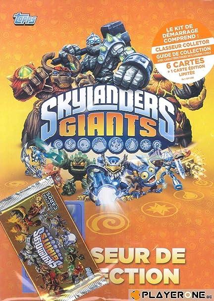 Topps Skylanders Gigantes de Cartas Starter Pack: Skylanders Giants Trading Card Starter Pack: Amazon.es: Juguetes y juegos