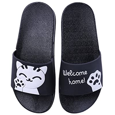dbc9592be18306 AMAYLE Girls Boys and Women Cute Slide Walking Sandals