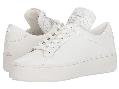 b8bb9c26342 Michael Michael Kors Mindy Floral Applique Fashion Sneaker (5 B (M) US,
