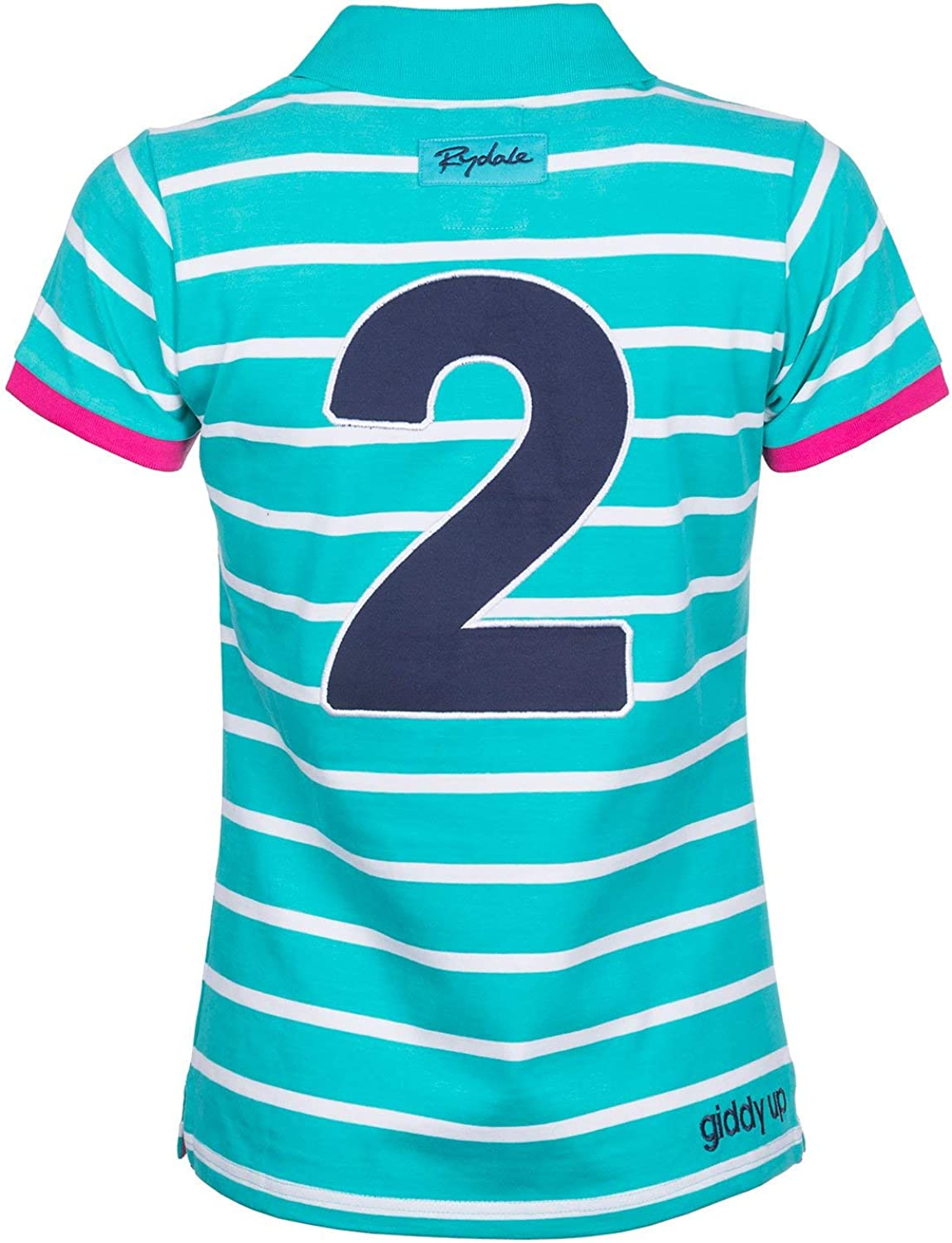 Rydale Ladies Haxby Hooped Polo Shirt