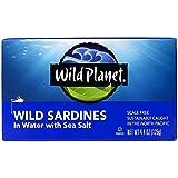 Wild Planet Wild Sardines In Spring Water, 4.4 oz