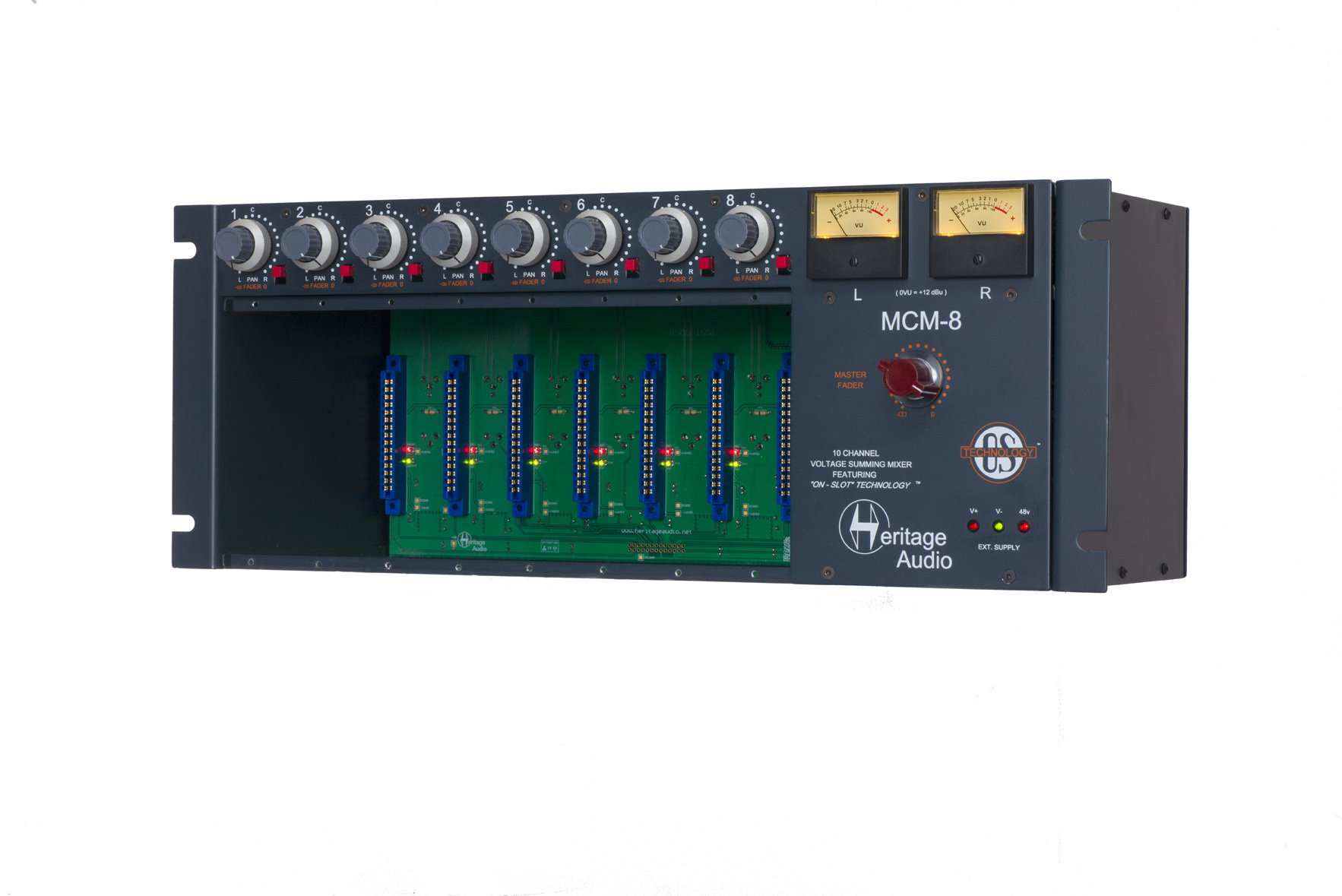 Heritage Audio MCM-8 8 Slot Rack