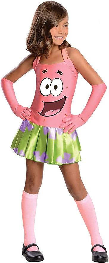 Disfraz de Patricio Bob Esponja para niña - L: Amazon.es: Ropa y ...