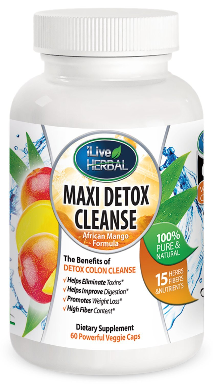Amazon Com Maxi Detox Cleanse Best Detox Cleanse Weight Loss