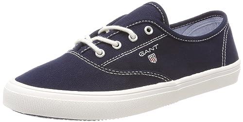 Gant New Haven, Chaussures Femmes, Bleu Foncé, 37 Eu