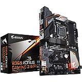 Gigabyte B360AORUS Gaming 3 - Placa Base (Intel B360, S 1151, DDR4, ATX), Color Negro