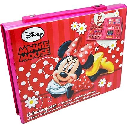 Malette De Coloriage Minnie De Disney Amazon Fr Jeux Et Jouets