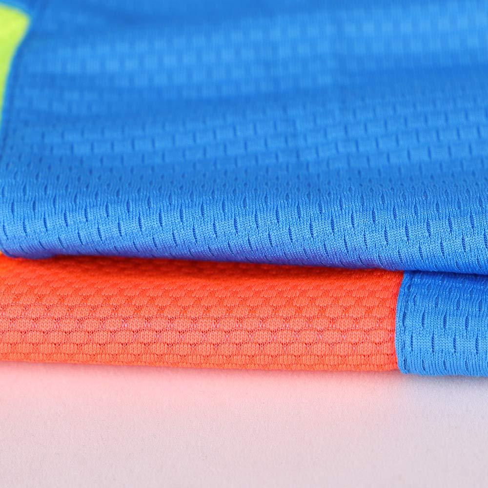 Musclealive Herren Sport Basketball Jersey und Kurze Hose einstellen Ausbildung Tops und Unterseite Polyester