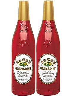 Sidste nye Amazon.com : Rose's Grenadine, 1 Liter : Grocery & Gourmet Food ED-18