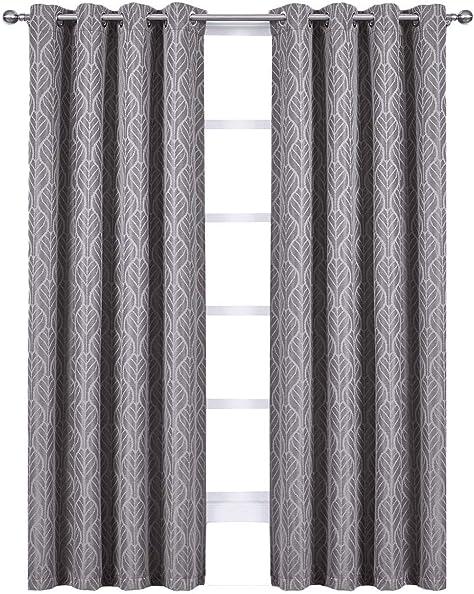 Royal Bedding Hilton Gray Curtains