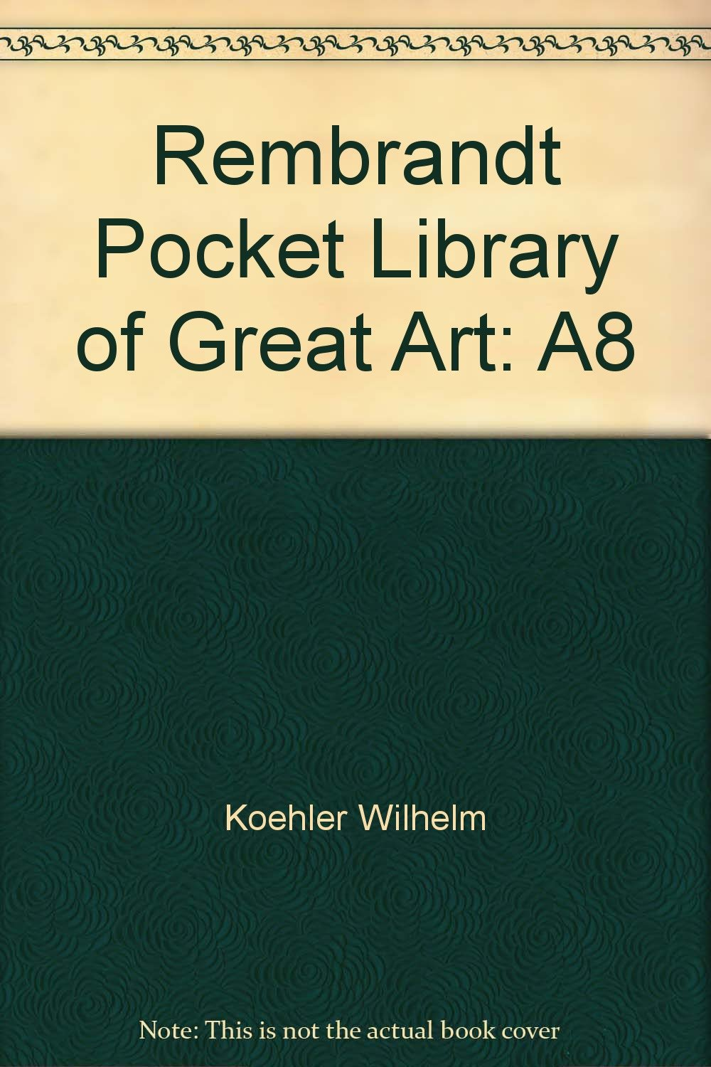rembrandt pocket library of great art a8
