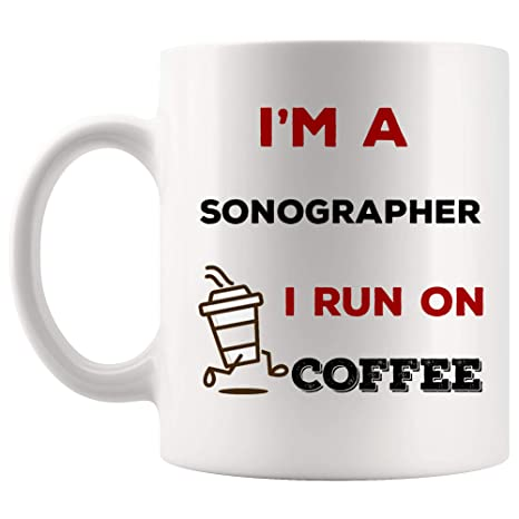 Amazon.com: Energy Fuel Run on Coffee Sonographer Mug Best ...