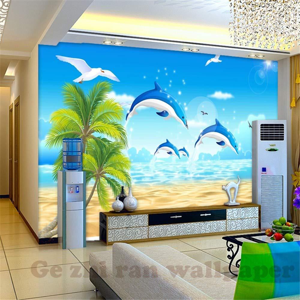 Personnalis/é 3D Photo Murale Papier Peint Arbre De Bateau Paysage Abstrait Papier Peints Pour Salon Chambre Int/érieur De La Maison