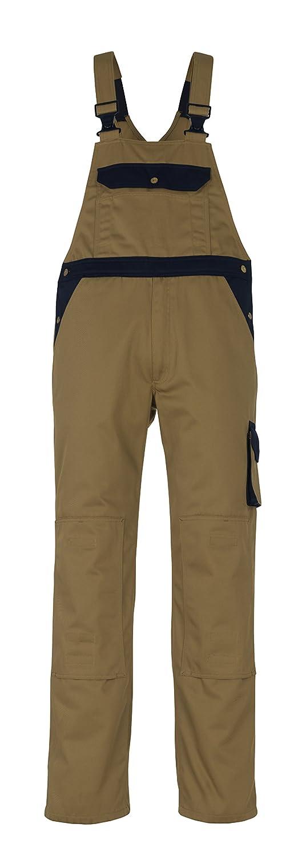 L90cm//C50 Mascot 00969-430-51-90C50Milano Bib /& Brace Overalls Khaki//Marine Blue