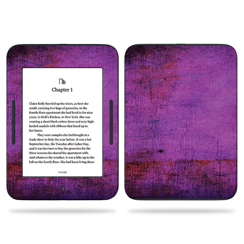 MightySkins Skin For Barnes & Noble NOOK GlowLight 3 (2017) - Purple Sky | Protective, Durable, and Unique Vinyl Decal wrap cover | Easy To Apply, Remove, and Change Styles | Made in the USA