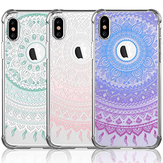 3 packs girly iphone xs max cases