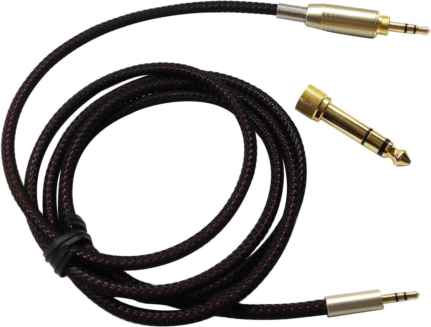 Cable de Audio de Repuesto Compatible con Auriculares Bose SoundTrue, SoundLink On-Ear, SoundLink II Alrededor de la Oreja, Auriculares inalámbricos de 1,2 Metros