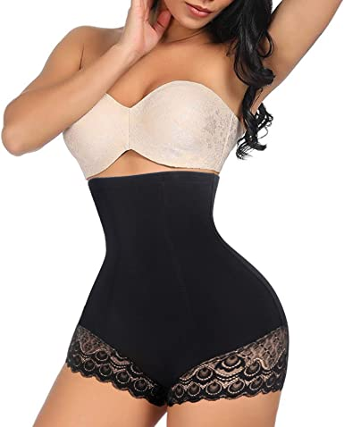 VINVVOOD Shapewear High Waist Body Shaper for Women Tummy Control Panties Butt Lifter Shorts Seamless Waist Slimmer Underwear