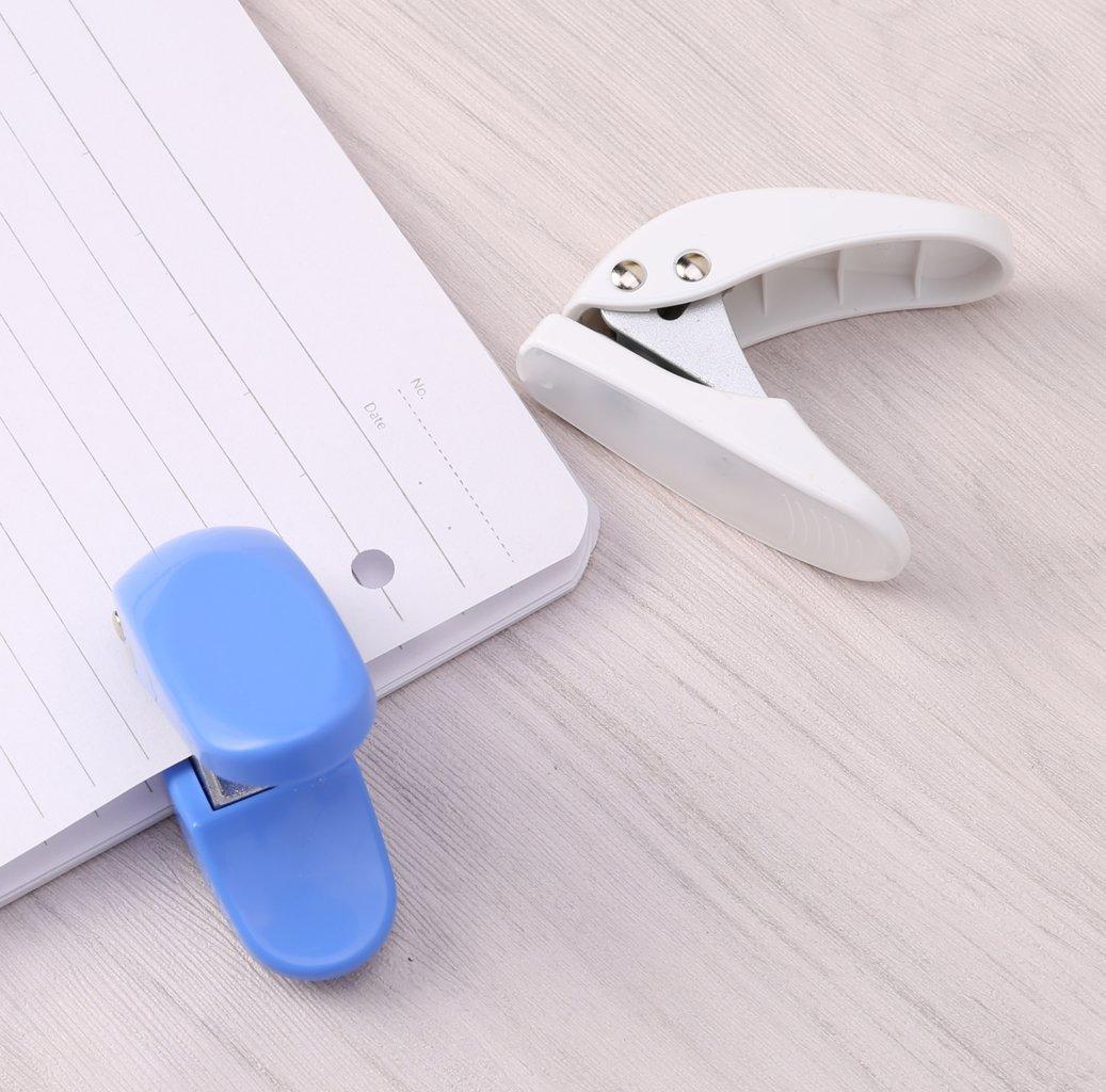 Manyo perforador de papel accesorio ordenador port/átil de contraste de papel de impresi/ón herramienta de artesan/ía coupeur Scrapbook Perforation livraison aleatorio